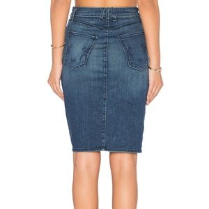 McGuire Confessional Denim Pencil Skirt, 29